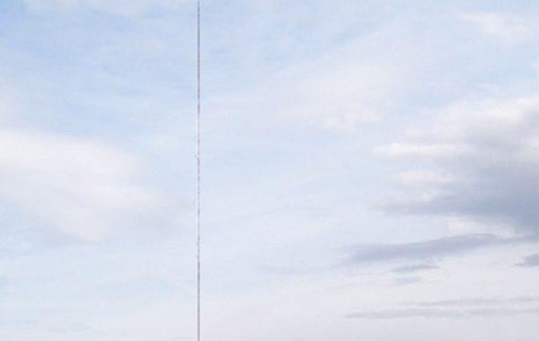 Antennemast på Linnekleppen.